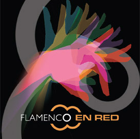 logo flamenco en red